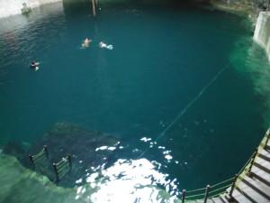 Hubiku Cenote - Underground river swimming